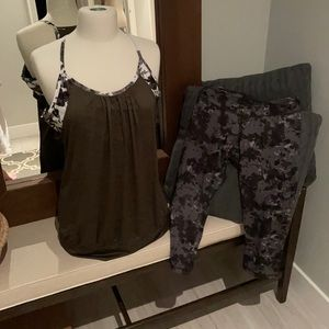 Old navy running/yoga outfit